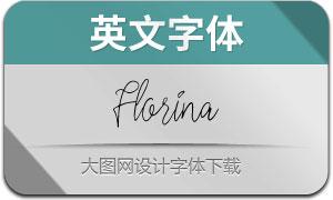 Florina(英文字体)