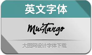 Mustango(英文字体)