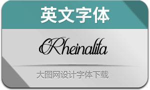 Rheinalita(英文字体)