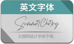 SummerCherry(英文字体)