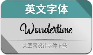 Wondertime(英文字体)