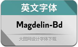 Magdelin-Bold(英文字体)