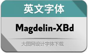 Magdelin-ExtraBold(英文字体)