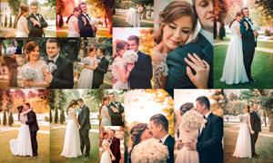 15款婚禮人像復古暖色效果LR預設