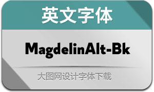 MagdelinAlt-Black(英文字体)