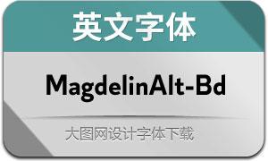 MagdelinAlt-Bold(英文字体)