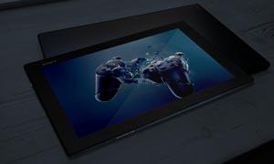 平板电脑屏幕内容显示效果应用模板