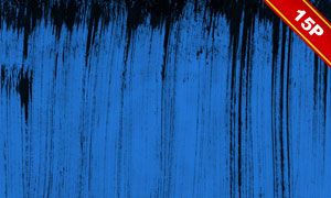 藍底的墨跡元素抽象背景創意圖片V1