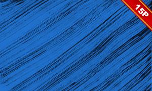 藍底的墨跡元素抽象背景創意圖片V2