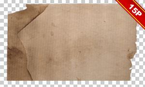 复古破旧样式纸张元素免抠素材集V2