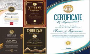 多种多样的授权书与证书等素材V185
