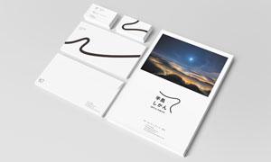画册封面与信封名片应用效果源文件