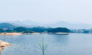 山水湖景美丽风光高清摄影图片