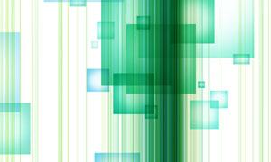方形与竖向的条纹创意设计分层素材