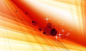 圆点线条星光装饰抽象背景分层素材