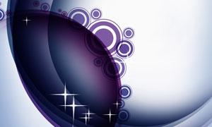 星光圆圈元素抽象创意设计分层素材