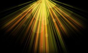 自上而下的光芒线条等创意分层素材