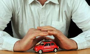 汽车多重保障保险主题摄影高清图片