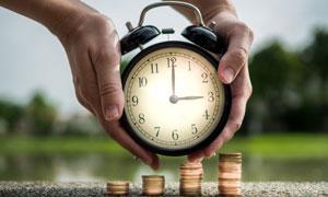 时间就是金钱创意设计摄影高清图片