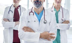 医疗行业从业人员特写摄影高清图片