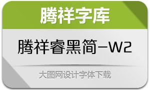 腾祥睿黑简-W2
