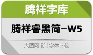 腾祥睿黑简-W5