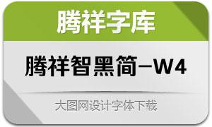 腾祥智黑简-W4