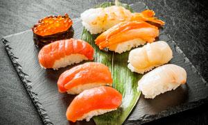 海鲜寿司美食餐饮高清摄影图片
