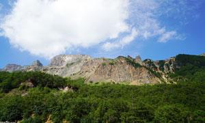 长白山北坡峡谷美景高清摄影图片