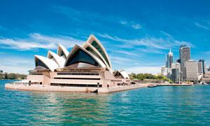 悉尼歌剧院高清摄影图片