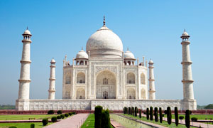 印度泰姬陵建筑摄影图片