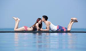 情侣人物写真主题摄影原片高清素材