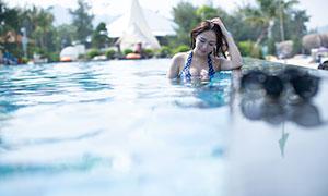 水中性感泳装美女写真摄影高清原片
