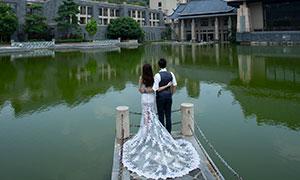 古建风光景观婚纱高清摄影原片素材