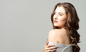 香肩美女人物性感寫真攝影高清原片