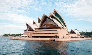 澳大利亚悉尼歌剧院景观摄影图片