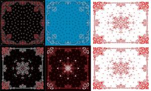 織物印染圖案適用的矢量素材集合V17