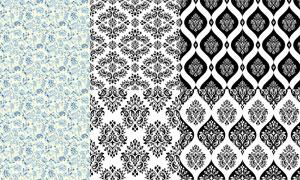 織物印染圖案適用的矢量素材集合V19