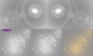 光源光效設計元素主題矢量素材集V01