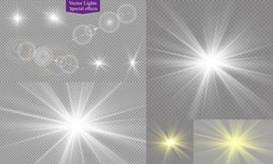 光源光效設計元素主題矢量素材集V02