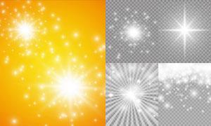 光源光效設計元素主題矢量素材集V06