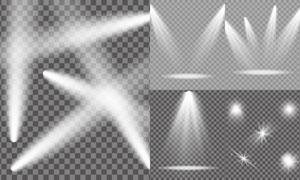 光源光效设计元素主题矢量素材集V07