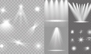 光源光效設計元素主題矢量素材集V08