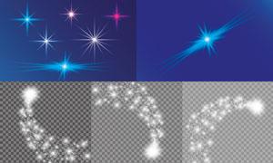 光源光效設計元素主題矢量素材集V09