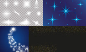 光源光效設計元素主題矢量素材集V10