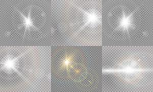 光源光效设计元素主题矢量素材集V11