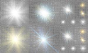光源光效設計元素主題矢量素材集V12