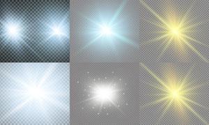 光源光效設計元素主題矢量素材集V13