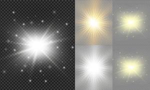 光源光效设计元素主题矢量素材集V14