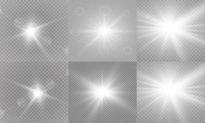 光源光效設計元素主題矢量素材集V15